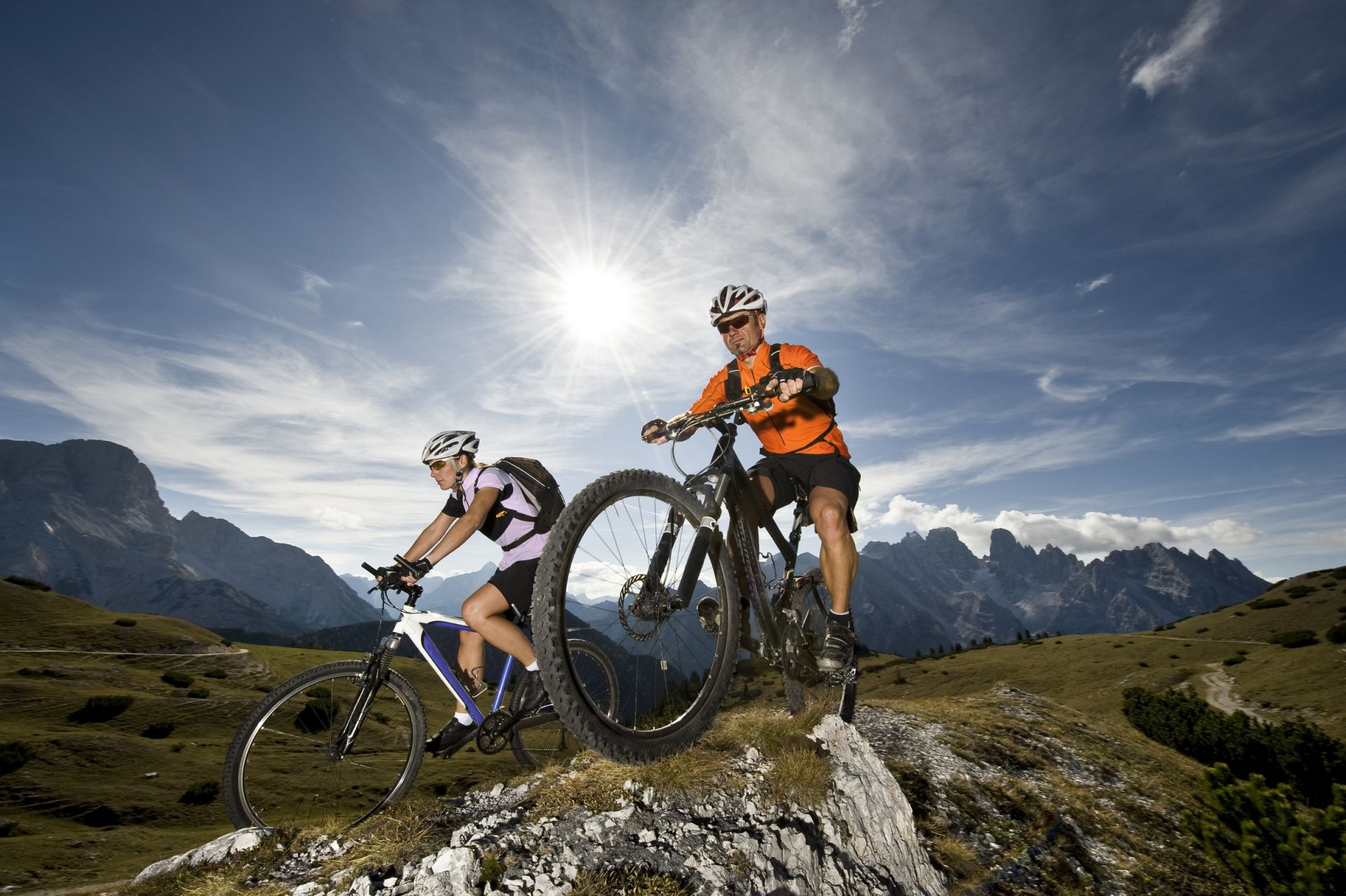 Bild: Mountain Bike in Alta Badia