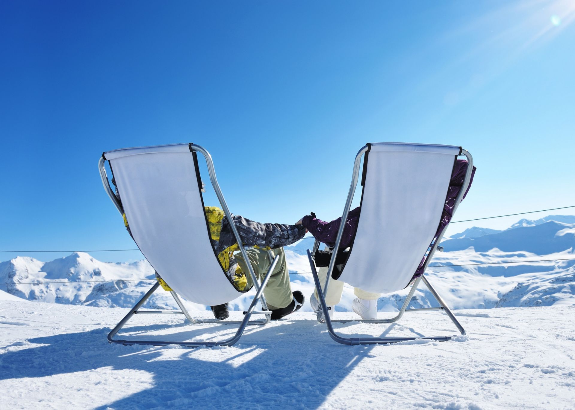 Image: Skiing, relaxation and culinary delights